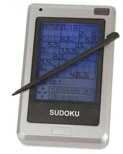 Totes Touch Screen Sudoku Pocket Size