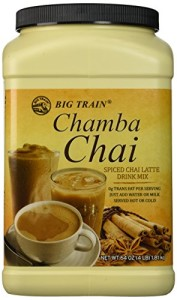 Big Train Chamba Chai Spiced Chai Lattei, Two  4lb. Jugs