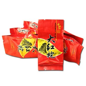 GOARTEA® 25Pcs*8g Organic Supreme Da Hong Pao Big Red Robe Wuyi Mountain Rock Chinese Oolong Tea