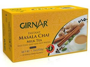 Girnar Instant Chai/Tea Premix With Masala, 10 Sachet Pack