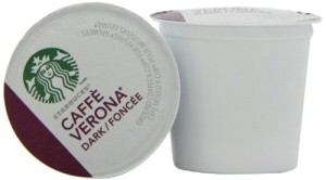 STARBUCKS CAFFE VERONA COFFEE 96 K CUP PACKS