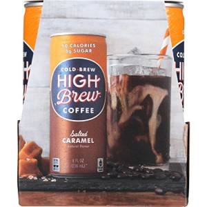 High Brew Coffee Coffee - Ready to Drink - Salted Caramel - 4/8 oz - case of 6