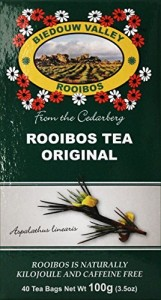 Biedouw Valley Rooibos Tea: Original. South African Red Bush Healthy Herbal Tea - Caffeine and Calorie Free; Antioxidant & Mineral Rich. Grown At High Altitude In Natural Habitat.