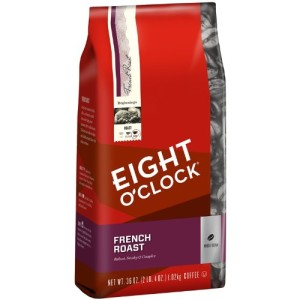 Eight O'Clock French Roast Whole Bean Coffee, 36-Ounce Bag