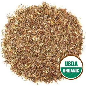 Organic Green Rooibos Natural Decaf Loose Leaf Tea, perfect by itself or add herbs. Brews 20 - 25 cups