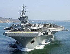 USS Nimitz (CVN 68) and Carrier Air Wing 11 depart San Diego (8.5 x 11)