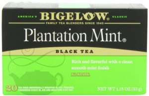 Bigelow Plantation Mint Tea, 20-Count Boxes (Pack of 6)