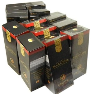 12 Boxes Organo Gold Gourmet Black Coffee - 360 Sachets