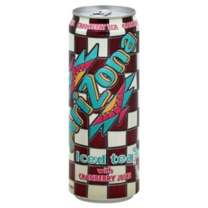 Arizona Tea Can, 23 Ounce (Pack of 24)