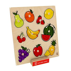 Hape - Home Education - Fruit Knob Puzzle