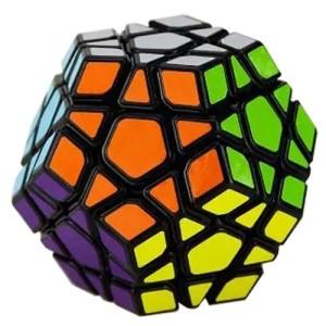 2015 New Yj Yuhu Megaminx Magic Cube Speed Cube Yongjun Cube Black