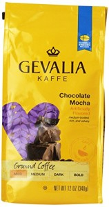 Gevalia Roast and Ground Coffee, Chocolate Mocha, 12 Ounce (Pack of 6)