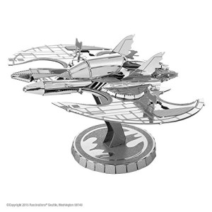 Fascinations Metal Earth Batman 1989 Batwing 3D Metal Model Kit