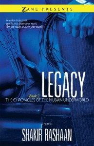 Legacy: Book Two of the Chronicles of the Nubian Underworld