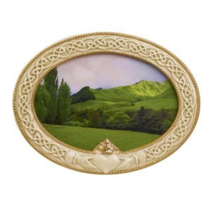 Grasslands Road Celebrating Heritage Celtic Claddagh Frame, 5-1/2 by 7-1/2-Inch, Holds 4 by 6 Photo