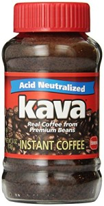 Kava Instant Coffee, 4 Ounce Glass Jar