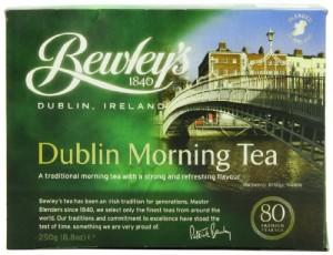 Bewley's Dublin Morning Tea, 250 gram/8.8  ounce ,80-Count