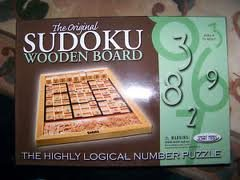 The Original Sudoku Wooden Board by Smart Minds