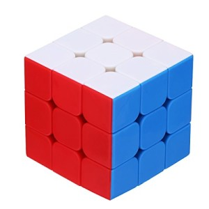 Dreampark 3x3 Speed Cube Stickerless Smooth Magic Cube Puzzles - 100% Money Back Guarantee!