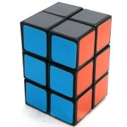 2x2x3 Black Cuboid Cube Twisty Puzzle Smooth