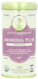 Zhena's Gypsy Tea, Ambrosia Plum, 22 Count Tea Sachet