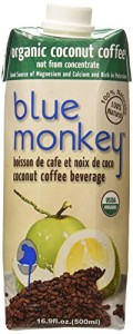 Blue Monkey Coffee Beverage, Coconut, 1.3 Pound (Pack of 12)