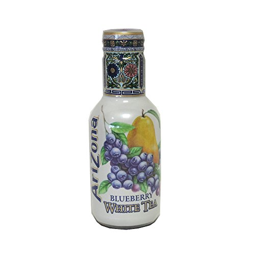 AriZona - Blueberry White Tea - 500ml (Pack of 6)