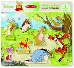 Winnie The Pooh Wooden Chunky Puzzle