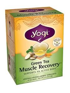 Yogi Muscle Recovery Green Tea