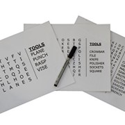 """Tools"" Word Search Grab & Go for Dementia and Alzheimer's"