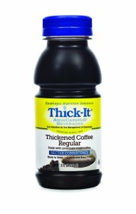 Thick-It Aquacare H2O Nectar Consistency Pre-thickened Coffee Regular, 8 Ounce (Pack of 24)