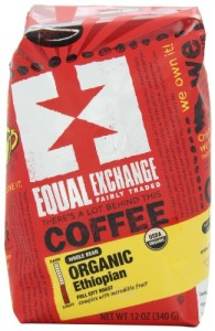 Equal Exchange Organic Coffee, Whole Bean, (Pack of 3)