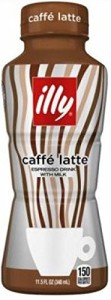 Illy Issimo Caffe Latte 11.5 Oz Bottles - Pack of 12