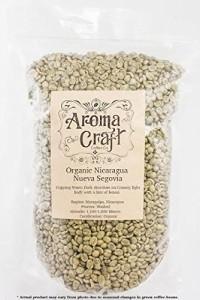 Aroma Craft Coffee :ORGANIC Nicaragua Nueva Segovia Unroasted Green Coffee Beans