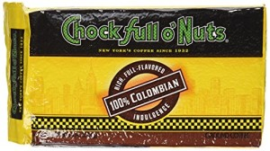 Chock full o'Nuts Coffee 100% Colombian Brick