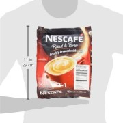 2 PACK - Nescafe IMPROVED 3 in 1 ORIGINAL (was named REGULAR) Premix Instant Coffee - Creamier Coffee Taste & More Aromatic - 19g/Stick - 60 Sticks TOTAL