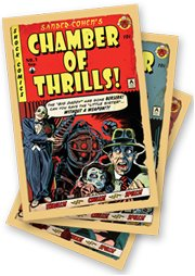 Bioshock Chamber of Thrills Lithograph Art Trio