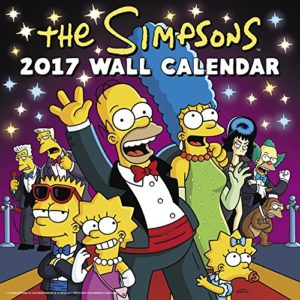 The Simpsons Wall Calendar (2017)